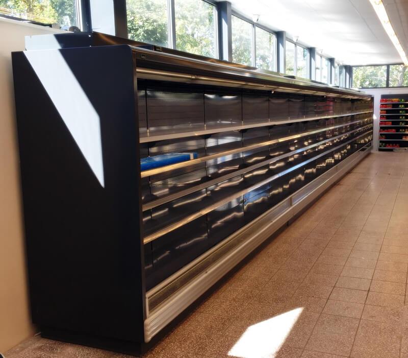 Regały chłodnicze - chłodnictwo - sprzedaż, montaż, serwis